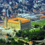 zamki nad brzegiem Dunaju